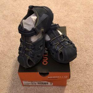 Merrell Toddler Boy Hydro Sandals size 8